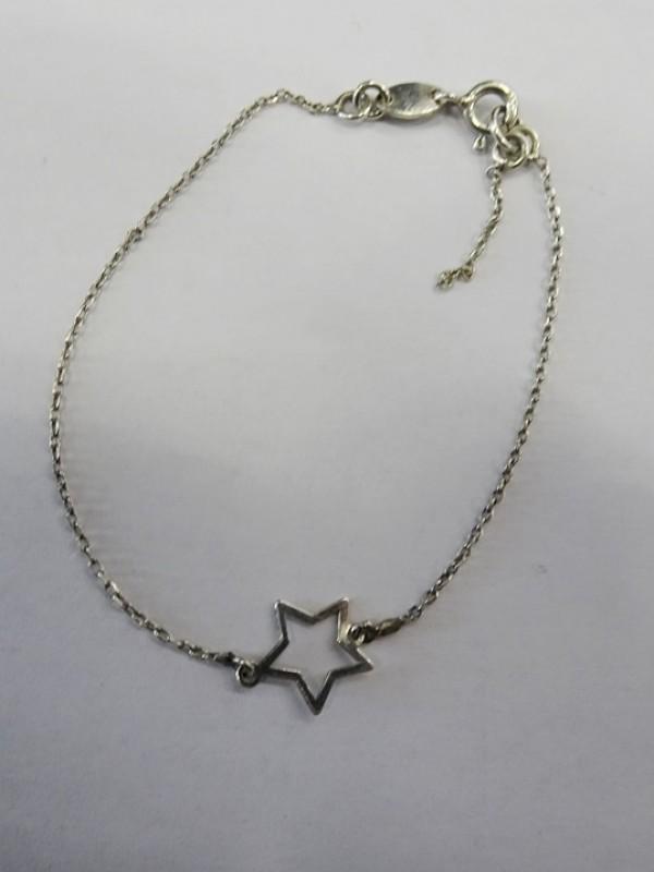 zilveren armbandje met ster