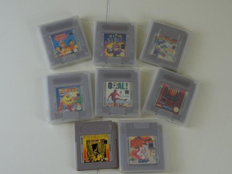 Lot 8 Nintendo Game Boy games