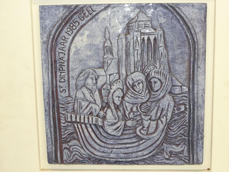 Genummerde gedenktegel: Sint Dimphna-jaar, 1985