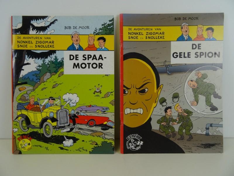 Nonkel Zigomar, Snoe en Snolleke : 2 verhalen uit de Felix collectie 2002 2004
