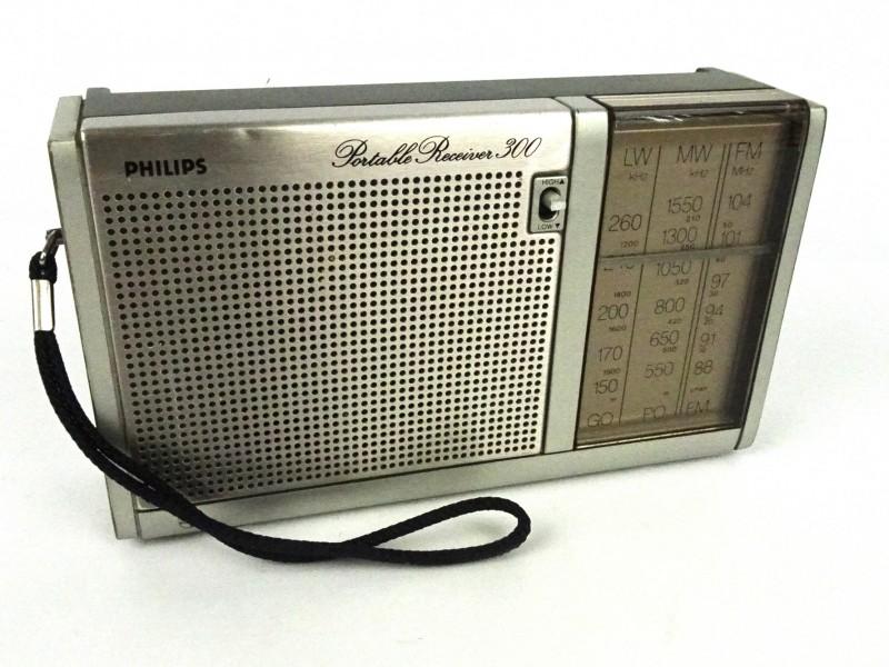 Vintage draagbare radio (Philips)