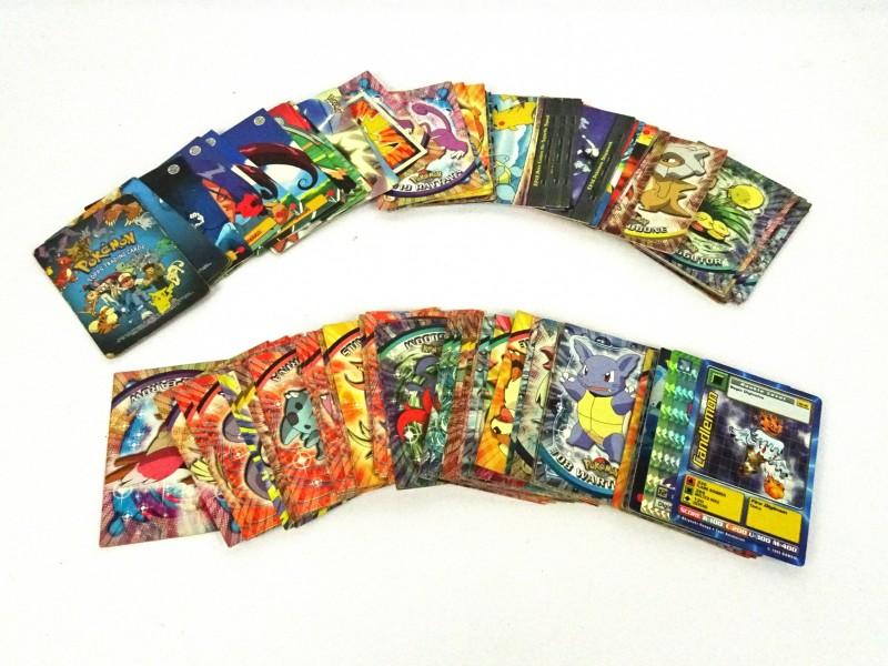 Verzameling Pokémon kaarten '90