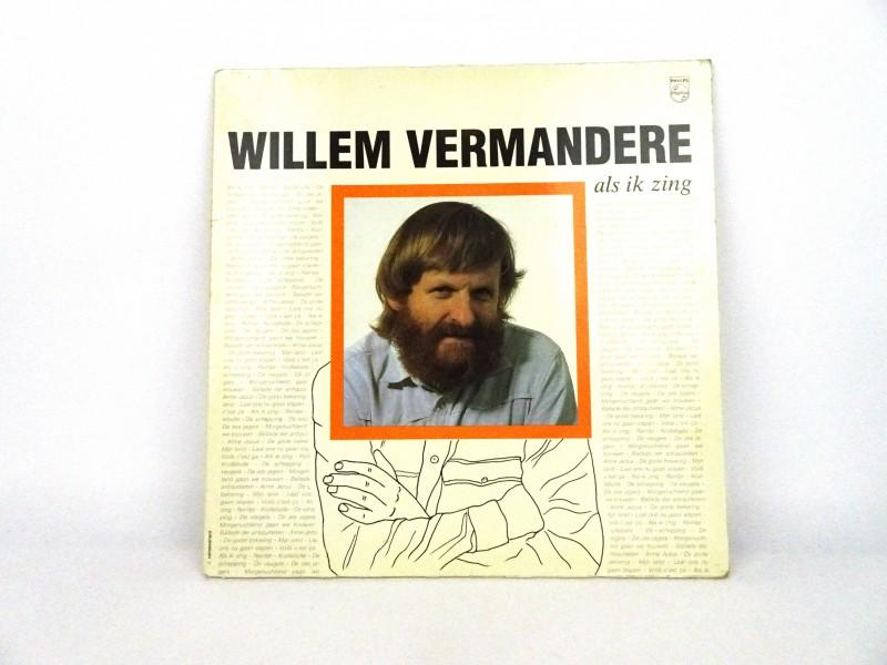 """Vinyl-Album Willem Vermandere """"Als ik zing"""""""