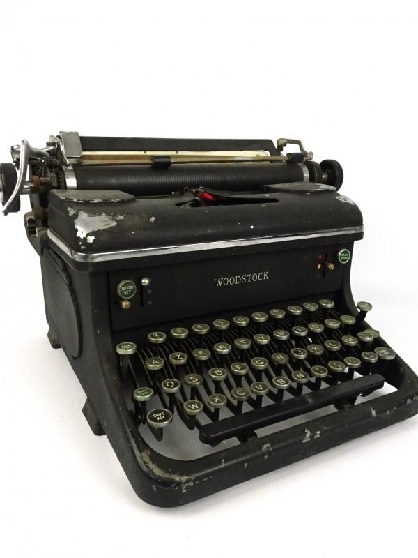 Vintage schrijfmachine (WOODSTOCK USA)