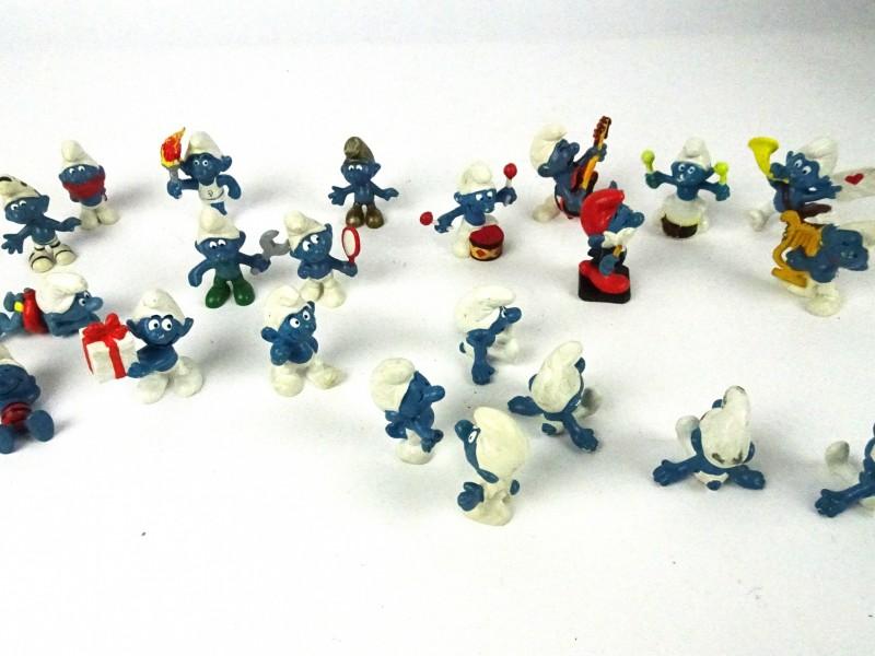 Verzameling Smurf-figuurtjes