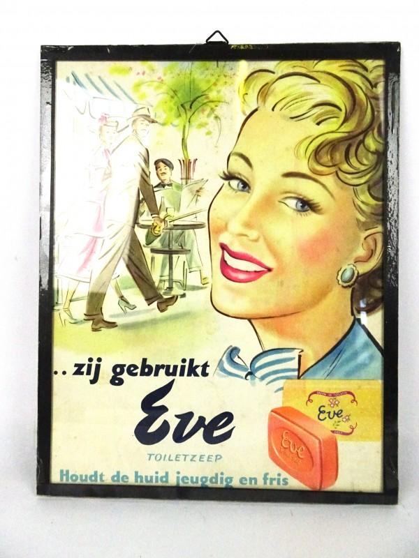 Vintage reclameaffiche