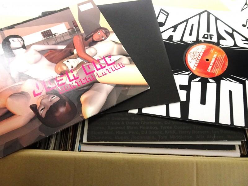 Lot: vinylplaten (Dance/Techno/Club)