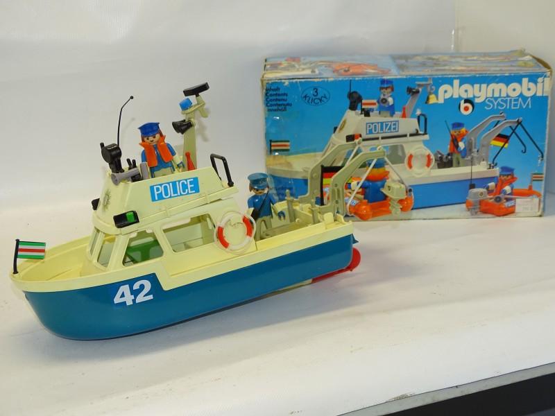 Politie Boot, Playmobil 3539, 1980