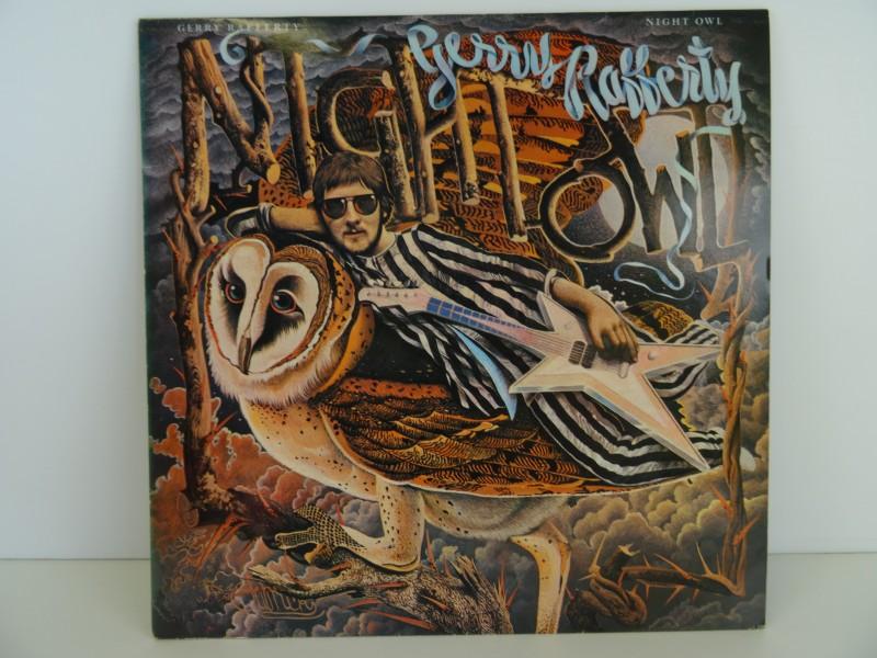 "Gerry Rafferty – Night Owl (LP"")"