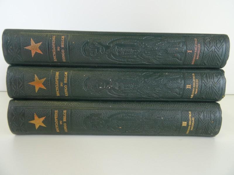 Goffin, Bequaert: Encyclopédie du Congo Belge - 3 delen 1951