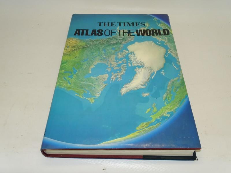 Boek: The Times Atlas Of The World, 1989