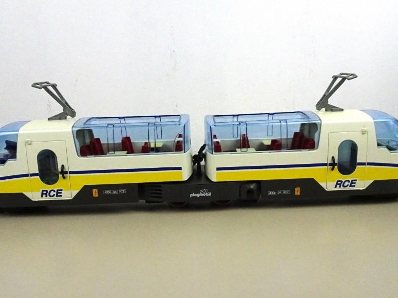 R.C. tram Playmobil