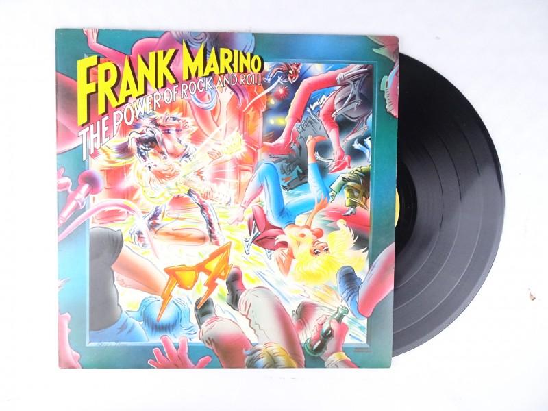 Vinyl album Frank Marino – The Power Of Rock And Roll