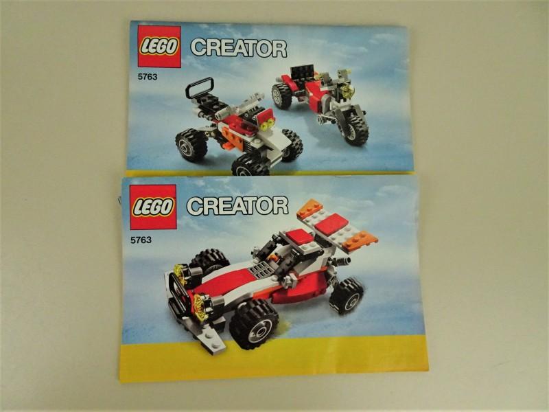 Lego Creator race-auto