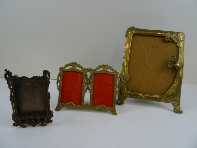 3 Art-Nouveau fotokaders