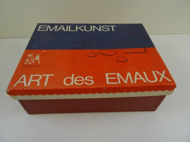 Doos Art des Emaux/Emailkunst  Calozet