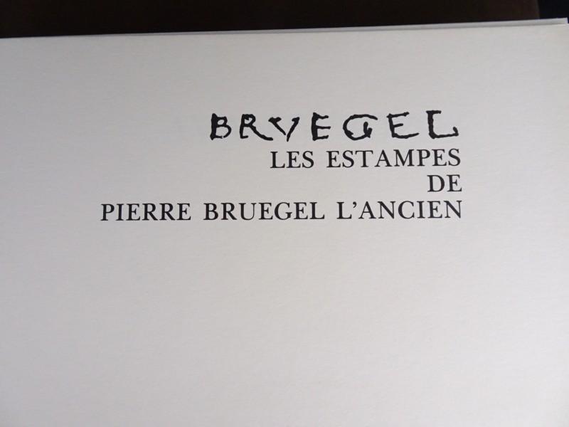 Groot naslagwerk van Bruegel - Les Estampes de Pierre Bruegel l'Ancien – 1976.