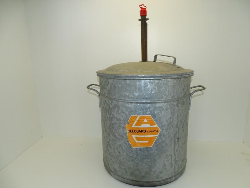 Vintage Zinken Steriliseerketel, Guillouard
