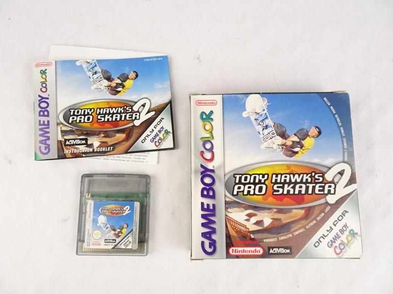 Game Boy Color spel Tony Hawk's Pro Skater 2