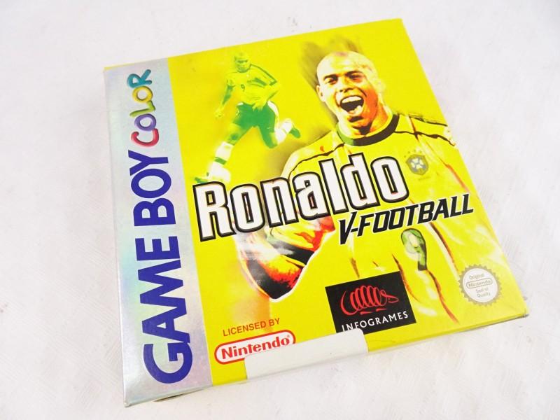 Game Boy Color spel RONALDO V-FOOTBALL