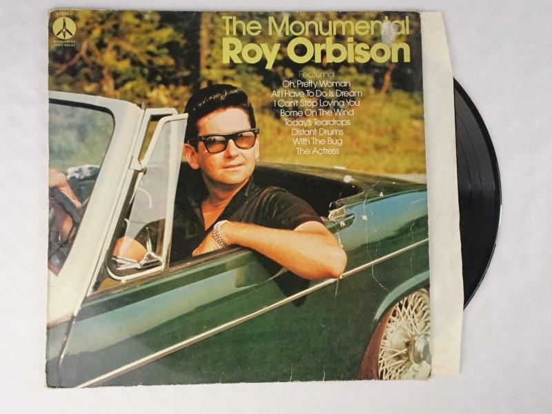 Vinyl album: The Monumental Roy Orbison.