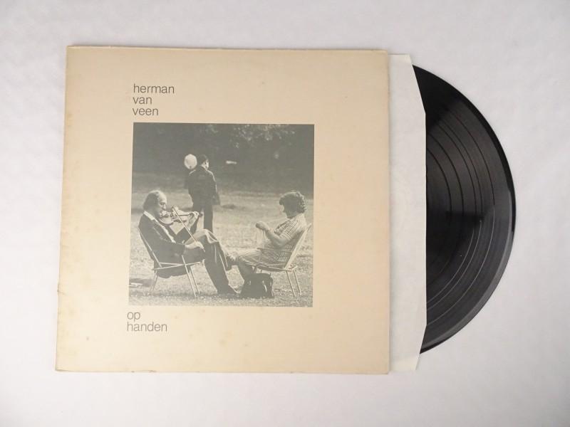 Vinyl album Herman van Veen: Op Handen.