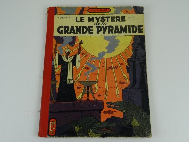 Edgar Jacobs:  Le mystere de la grande pyramide tome 2  1955