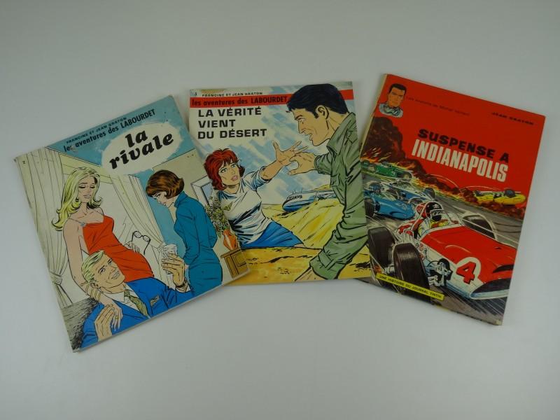 Francine en Jean Graton: 3 albums Frans