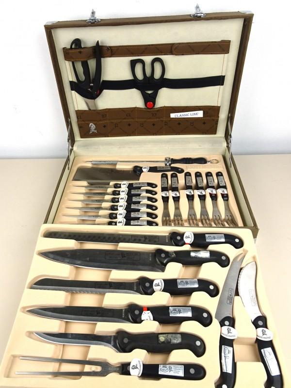 Koffer 24-delig messen-set
