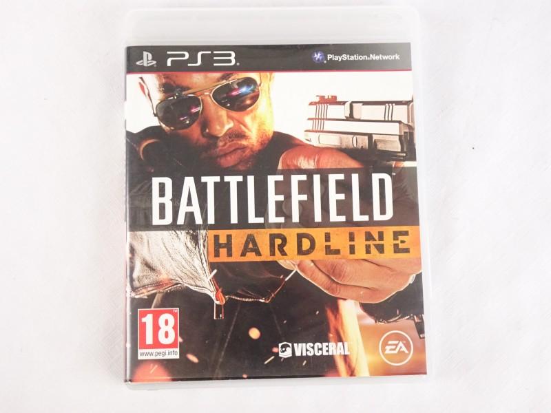 PS3 spel: Battlefield Hardline.