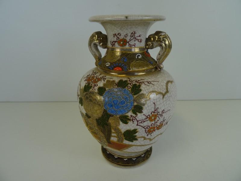 Japans aardewerk Satsuma vaas