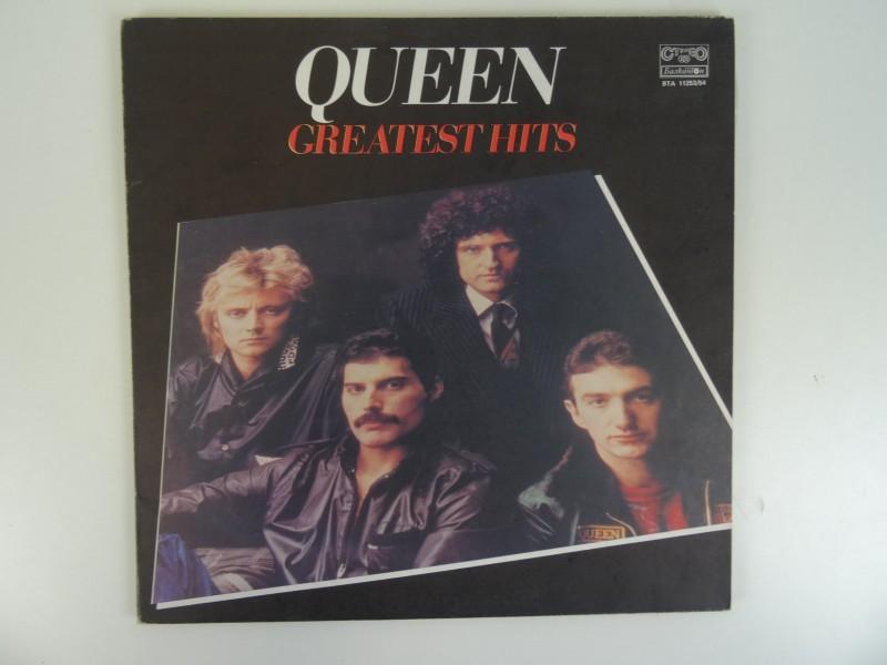 Dubbel LP -Queen- Greatest Hits