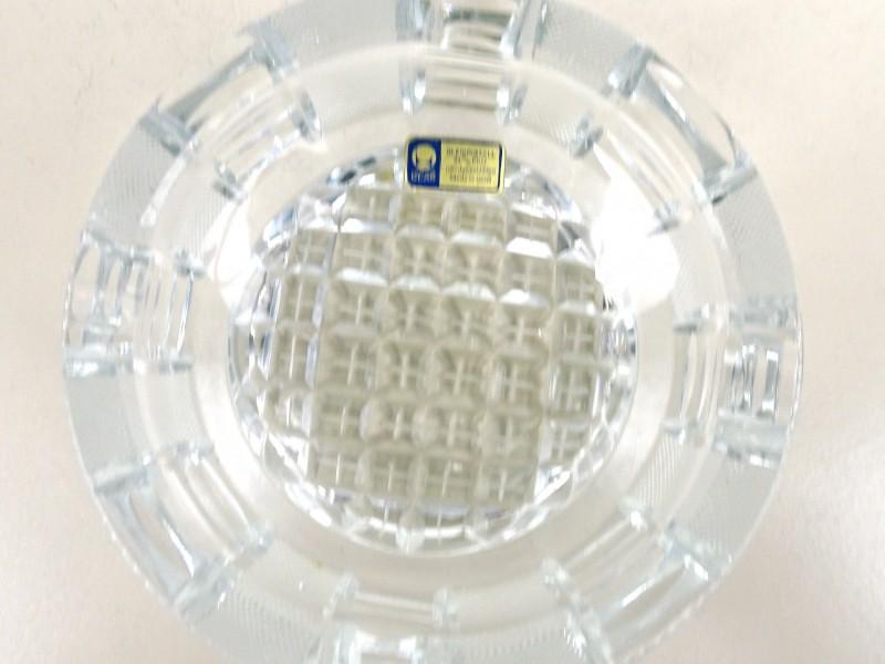 Kristallen asbak (Lausitzer glas)