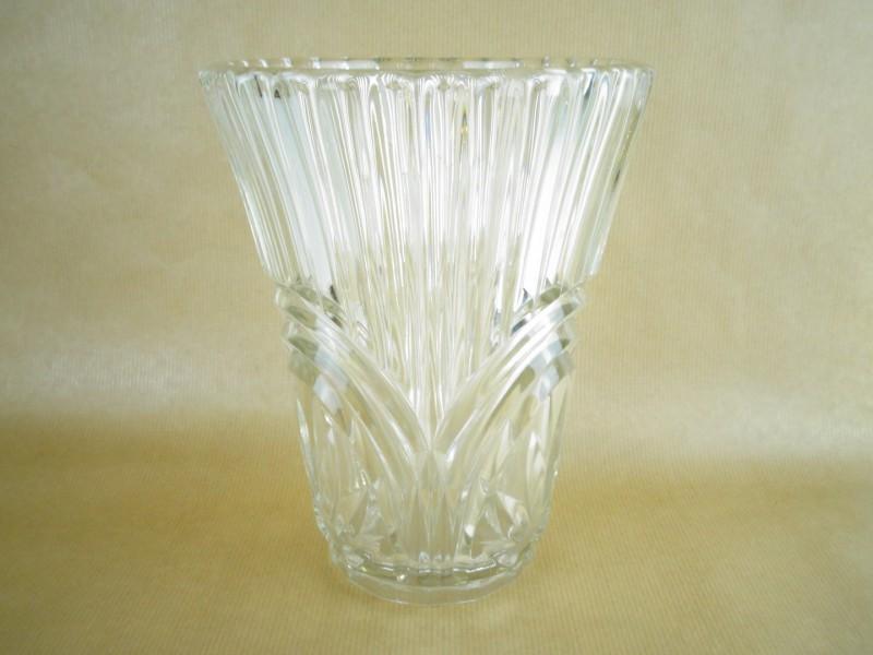 Vintage Persglas vaas clear glas
