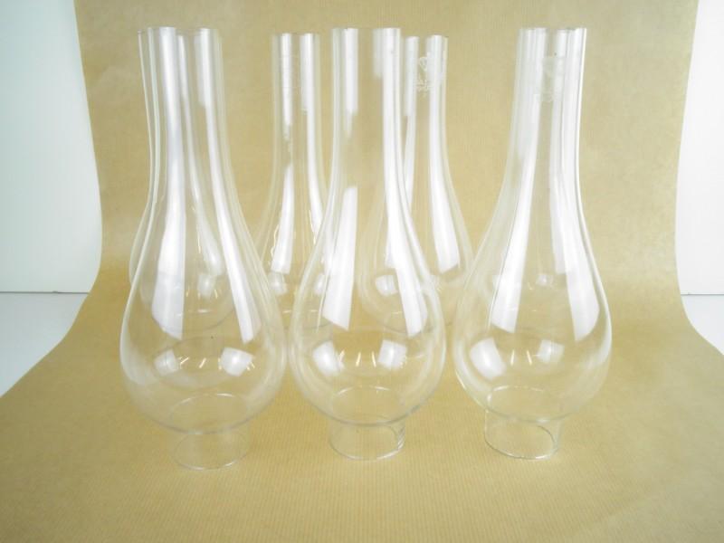 antieke glazen lampenkappen