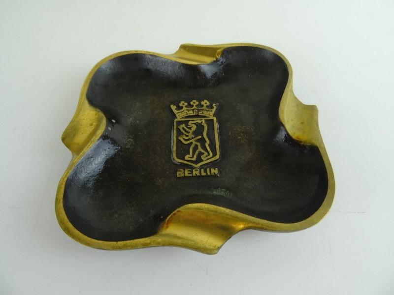 Design Asbak Berlin Messing