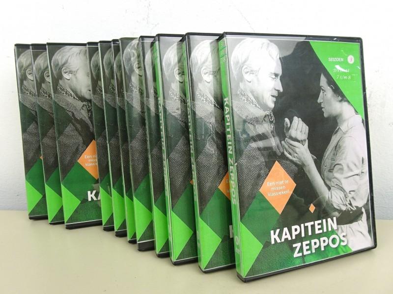 """Dvd collectie """"Kapitein Zeppos"""""""