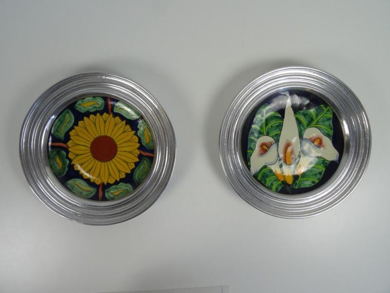 2 decoratieve sierborden