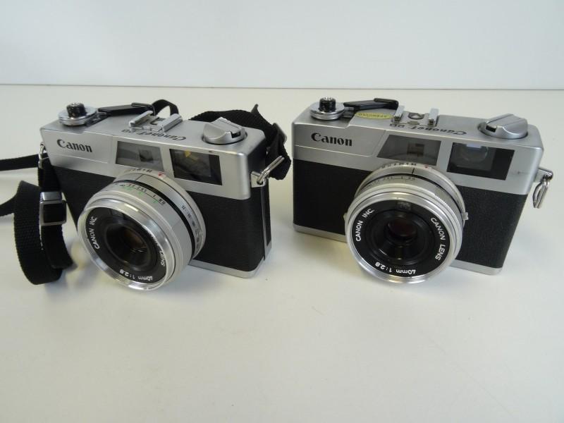 2x Canon Canonet 28