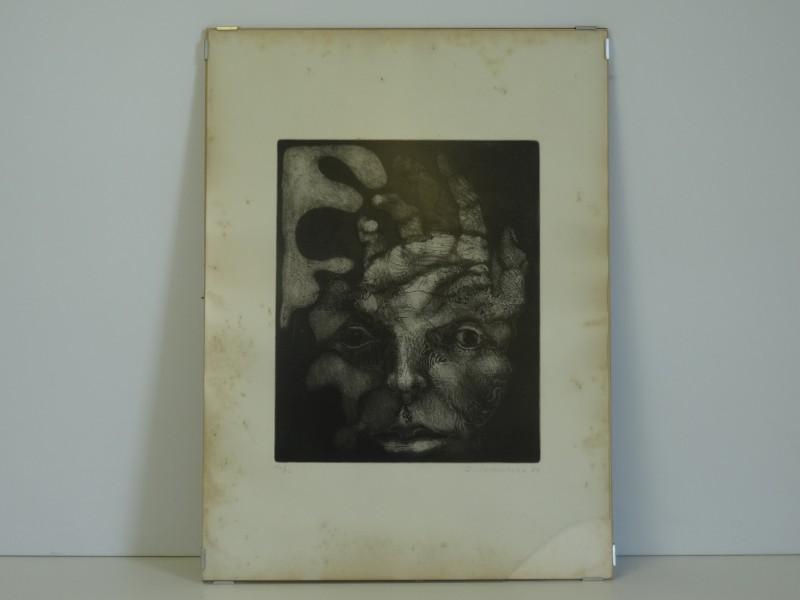 C Vanoverbeke: genummerde print 1974