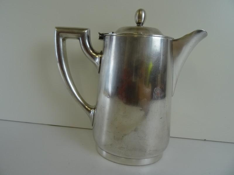 Verzilverde koffiepot ORIGINAL WELLNER 100cl