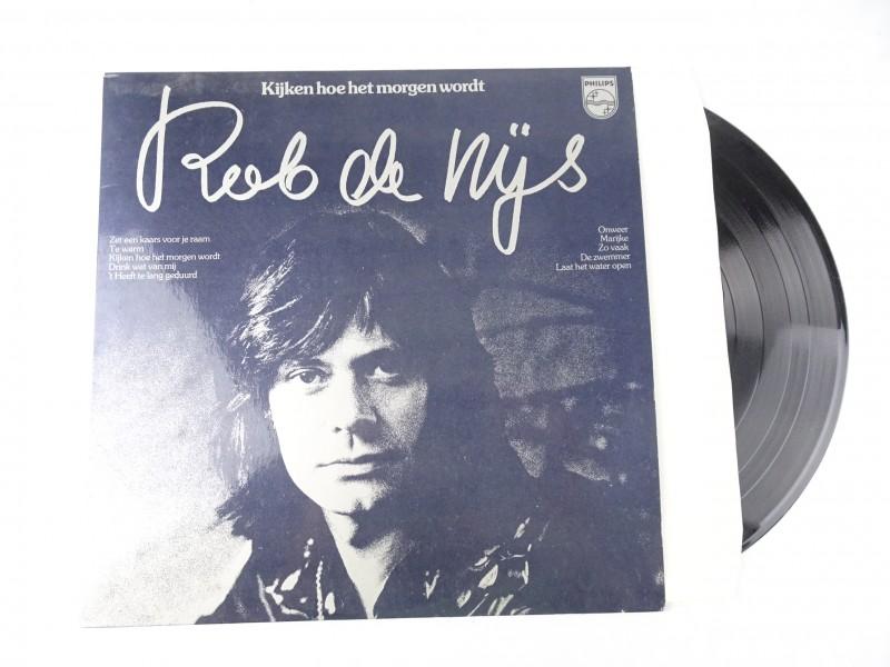 Vinyl album: Rob de Nijs. Kijken hoe het morgen wordt.