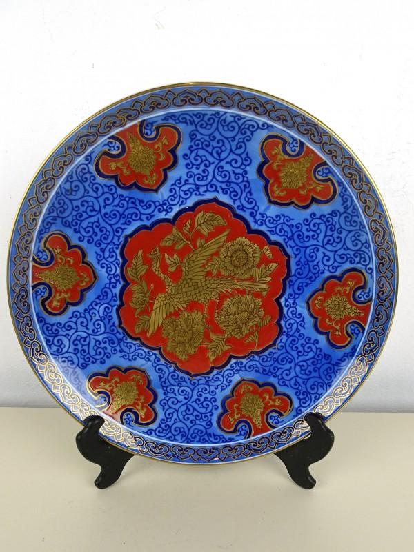 Aziatisch porseleinen bord (GOLDIMARI)