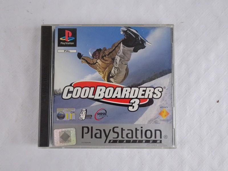 Playstation 1 spel: Cool Borders 3.