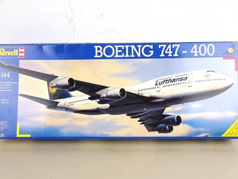 Revell modelbouwdoos (Boeing 747-400)