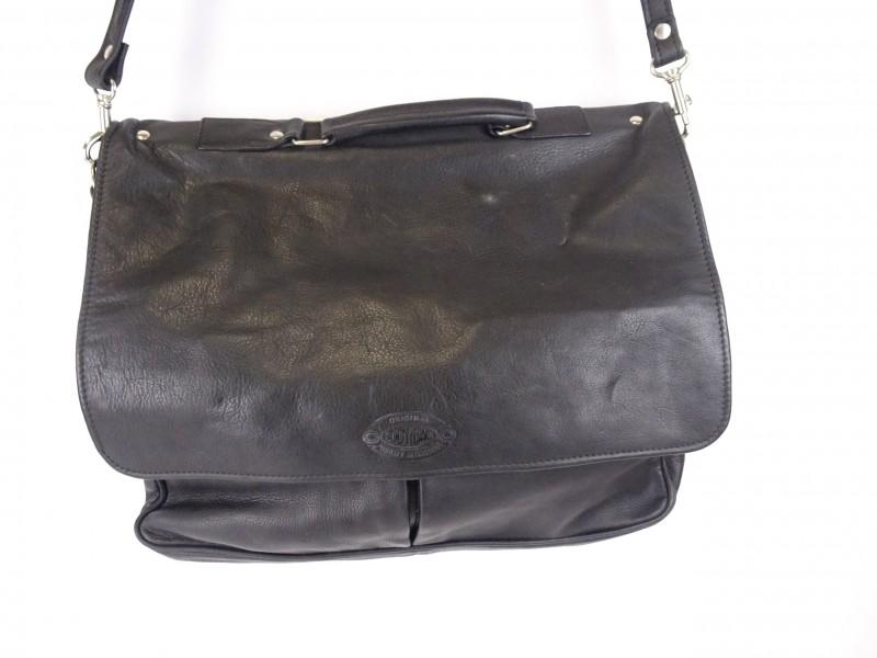 Lederen tas gemerkt: Original Body Bag, Quality in Leather.