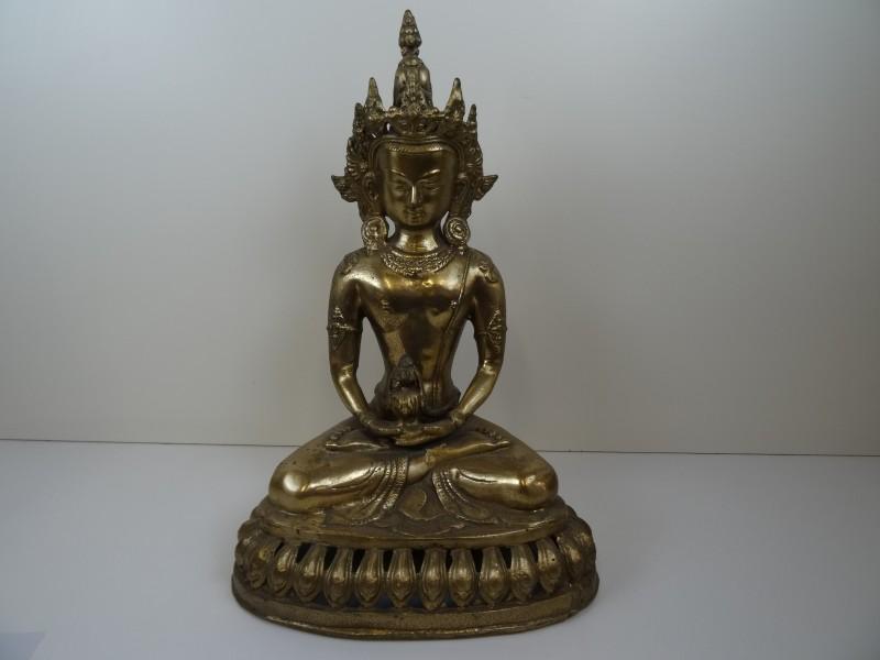 Tibetaanse Tara Beeld Brons