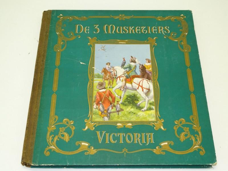 Plaatjesalbum: De Drie Musketiers, Tweede Deel, Victoria Biscuits