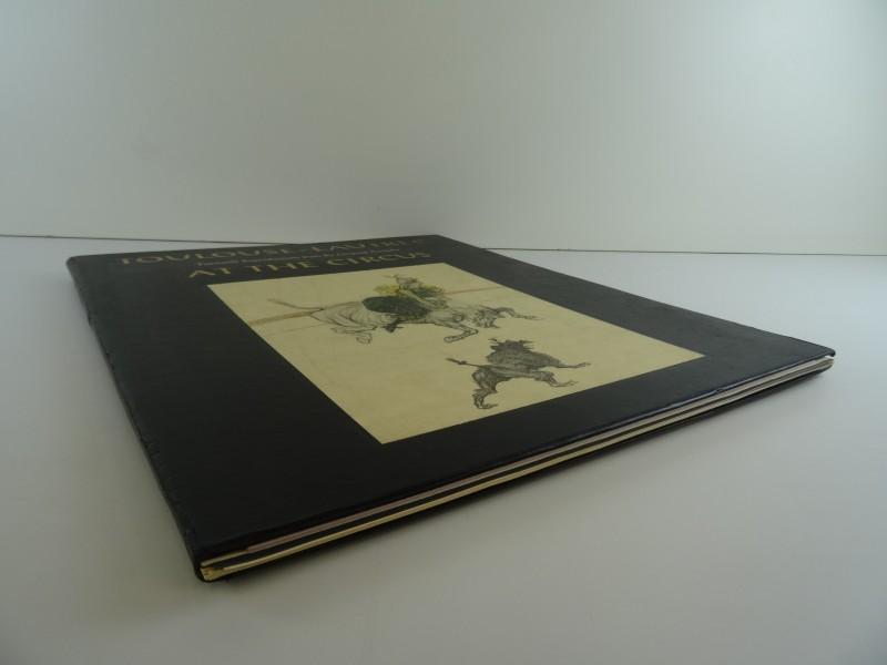 Toulouse- Lautrec: at the circus facsimile van portfolio  1967