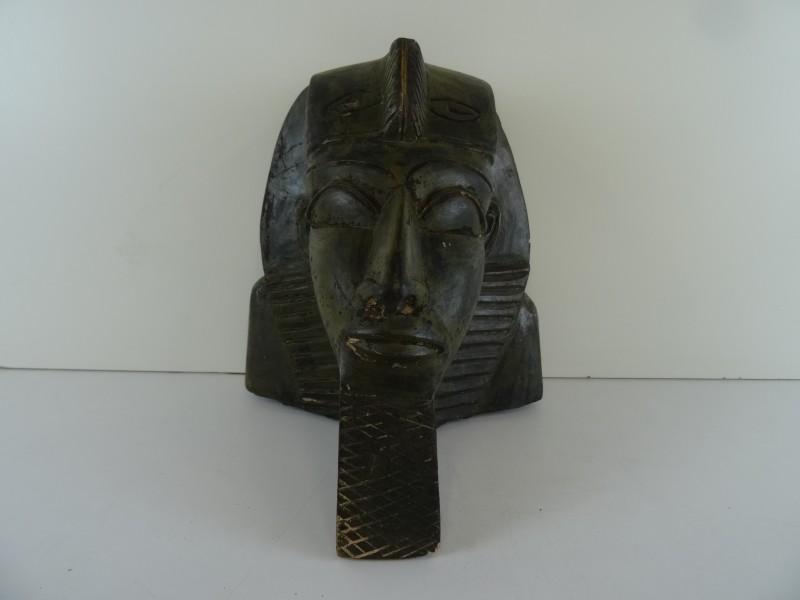 vintage buste farao Toetanchamon